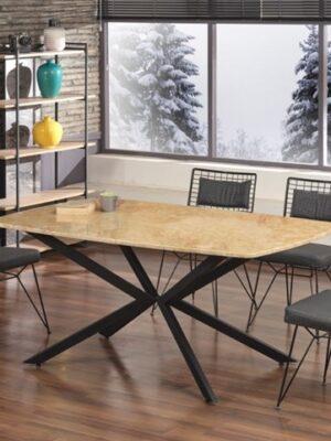 burçak metal masa sandalye takımı