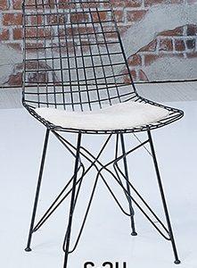 Örgü Tel Sandalye