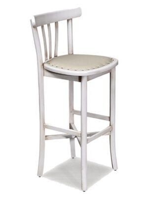 Laile Ahşap Döşemeli Bar Sandalyesi