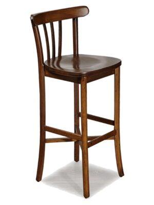 Laila Ahşap Bar Sandalyesi